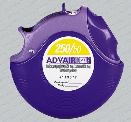 asthma advair 250 50 price
